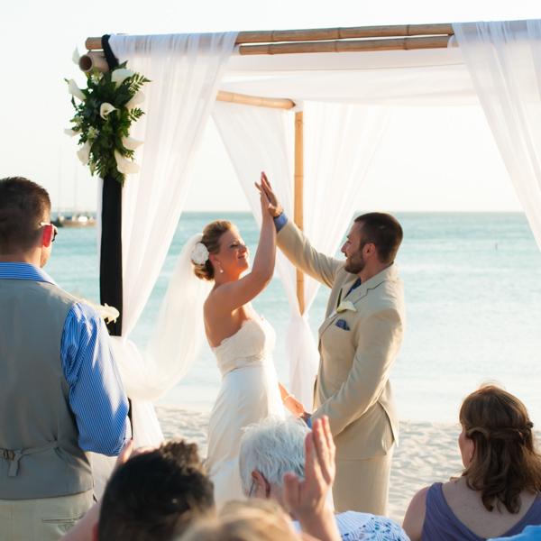Marriott Aruba Wedding